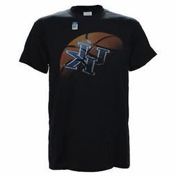 University of Kentucky REAL BALL on Black Shirt Basketball w