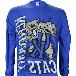 University of Kentucky Super Cats on Blue LS Shirt Basketbal