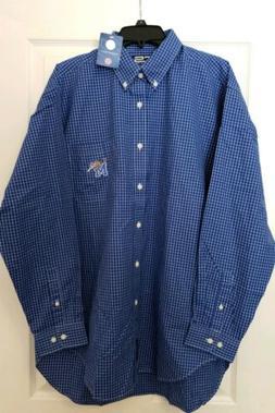 University Of Memphis Tigers Mens Licensed Dress Shirt Size