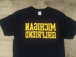 University of Michigan Wolverines Girlfriend Basic Block T-S