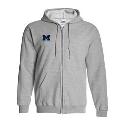 University of Michigan Wolverines Primary Logo Left Chest Fu