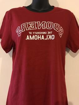 University of Oklahoma Sooners T- Shirt Women's Creative App
