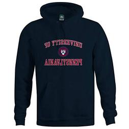Ivysport University of Pennsylvania Hooded Sweatshirt, Crest