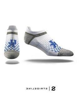 University of Kentucky White No Show Socks
