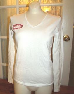 Oxford V-Neck Sweater Boston University B U School XS Cotton