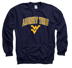 Campus Colors West Virginia Mountaineers Adult Arch & Logo G