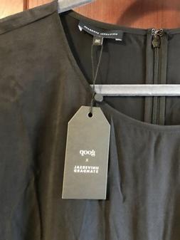 Goop X Universal Standard Black Cupro Dress 2XL Gwyneth Palt